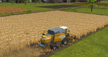 Farming simulator 16 screen