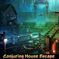 G4K Conjuring House Escape walkthrough