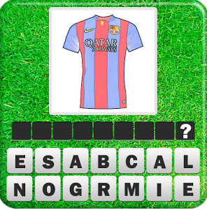 Guess the Football Kit answers